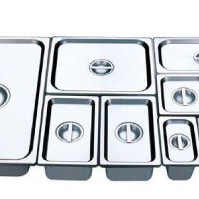 Gastronorm Food Pans 1/2 x 150mm