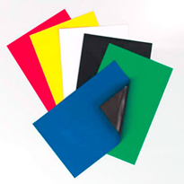 Coloured Magnetic Sheets | AMF Magnetics