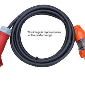Standard Plug to Reefer Socket Extension Leads Electrical Cable