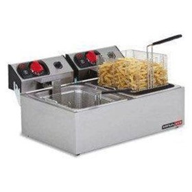 Double Pan Deep Fat Fryer
