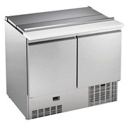 Refrigerated Counter Saladette - 250lt, with lid and chopping board