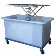 Laundry Trolley with Backsaver & Dolly - Tente