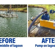Move from submersible to bank mounted pumps saves council - safer, more reliable