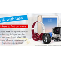 Purchase any Tesa product for your chance to win!