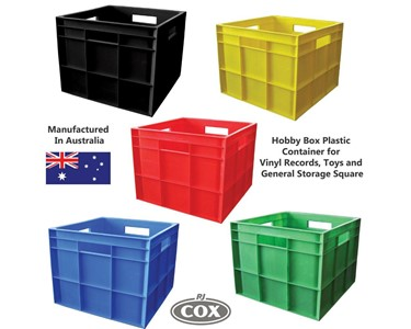 Versatile polypropylene box with an enormous range of uses
