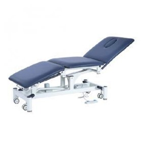 Electric Height Adjustable 3 Section Examination Couch