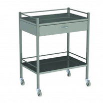 Medical Instrument Trolley One Drawer Model AX 057
