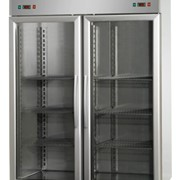 Double Glass Door Combination Chiller / Freezer 1400LT | EKO
