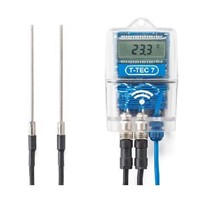 Wireless Dual Temperature Sensor Data Loggers T-TEC 7 3F-RF