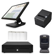 Element NeoPOS POS System Bundle with Barcode Scanner