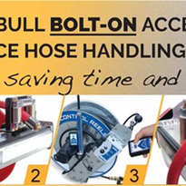 Bolt-on Hose Reel Accessories for PitBull Reels