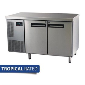 2 Door Gastronorm Counter Freezer | Pegasus PG250