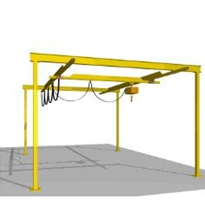 Light Capacity Track Cranes | Millsom Materials Handling