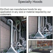 Telescopic Duct, Specialty Hoods, Silencers, Suction Bench for Ducting