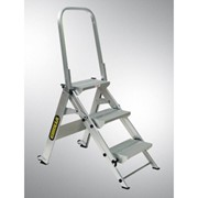 Aluminium Stair Step Ladders | Gorilla Series - GOR-3STAIR