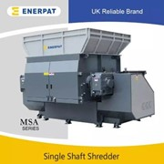 Single Shaft Shredder Machine for Aluminum Cans Bale | MSA-TW2000