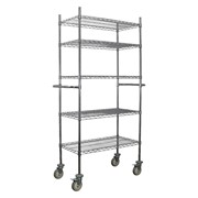 Wire Shelf Unit | Mobile