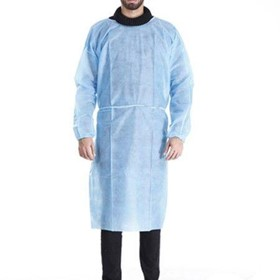 Disposable Medical Dental Laboratory Veterinary Isolation Cover Gown