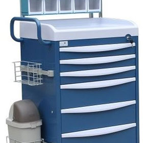 Quattro Anaesthetic Cart | Model 1470A