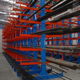 Double Sided Cantilever Racking System