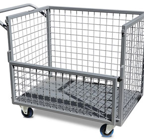 Industrial Trolley ITC340 | Castors & Industrial