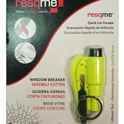 Resqme Seat Belt Cutter & Window Breaker