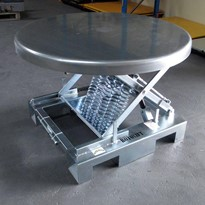 KIng Roto-Lift Self-Levelling Packing Table from Pack King