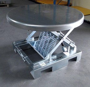 KIng Roto-Lift Self-Levelling Packing Table