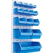 Stack N Hang Plastic Storage Bins