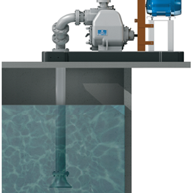 Pumping Corrosive Wastewater | Self-Priming Super T Series Pumps