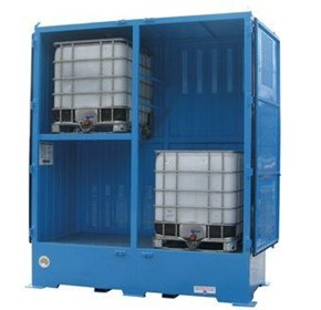 Dangerous Goods Storage | Outdoor Relocatable | 4000L Bulkibox