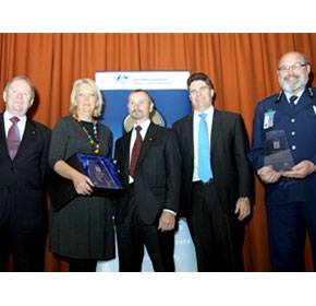 Benbro Electronics wins '10 Safer Communities Award