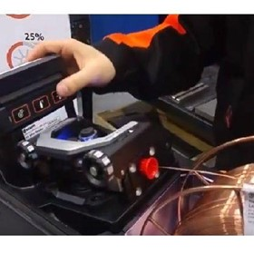 Kemppi X8 MIG Welder – Easy Wire Feed Mechanism