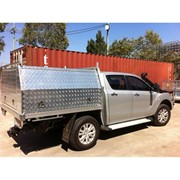 Chequerplate Alloy Ute Canopy