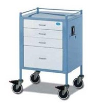Anaesthesia Trolley | FD18-4065 (Stainless Steel) 4 Drawer