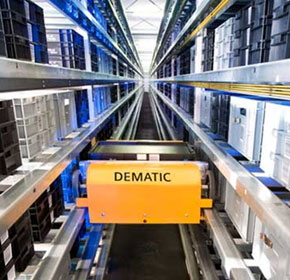 Dematic Multishuttle on display at Smart Conference