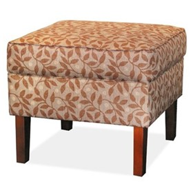 Wing & Lounge Chairs | Lux Footstool