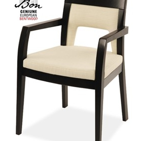 Formal Area Chairs | Lia Bon Bentwood Armchair