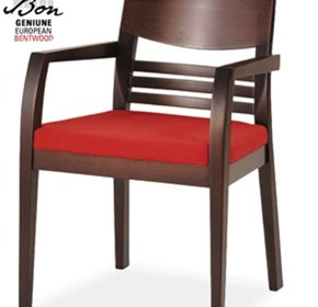 Formal Area Chairs | Vittel Bon Bentwood Arm Chair