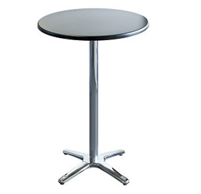 Indoor/Outdoor Round Bar Table | Roma Innova