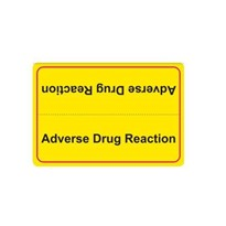Adverse Drug Reaction Label | Adverse Drug Reaction op