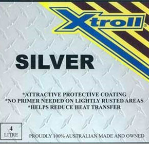 Rust Treatment & Prevention Paint | Xtroll Silver