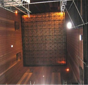 Yallourn power station boiler dance floor project