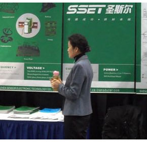 SSET appeared at ISA Calgary exhibition in Canada