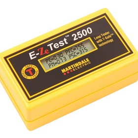 EZ2500 Non Trip Earth Loop Tester