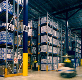 Colby Drive-In Pallet Rack - low cost, versatile high-density storage