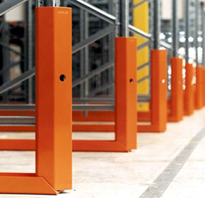 Improve warehouse safety & cut damage costs with Colby Protect-a-Rack