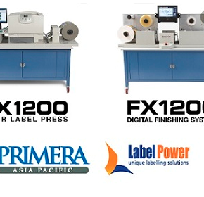 Label Power announces updates released for the Primera CX1200&FX1200