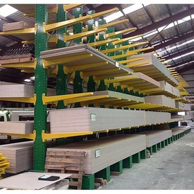 Powder Coated Cantilever Racking