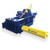 125 Tonne Scrap Metal Baling Press | Enerpat